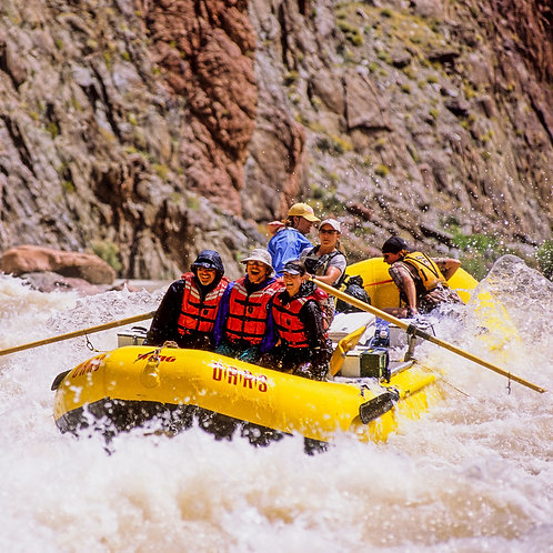 9 Days Whitewater Rafting, Lower part Colorado River June 19-27, 2021