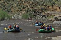 white-water rafting, rafting, rapids