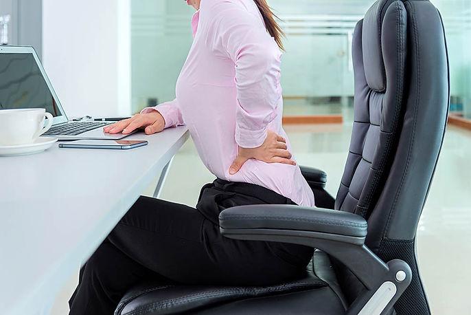 Low back pain - Lumbar back pain - Sciatia