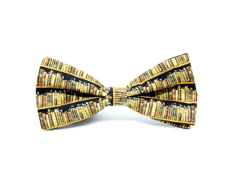 Library Silk 'Sophisticate' Bow Tie