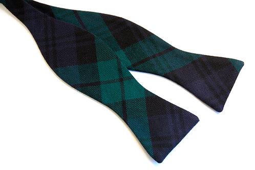 Black Watch Tartan 'Gentleman' Bow Tie (Classic)