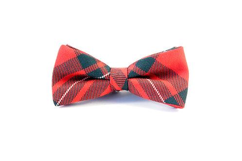 MacGregor Red Modern Tartan 'Sophisticate' Bow Tie