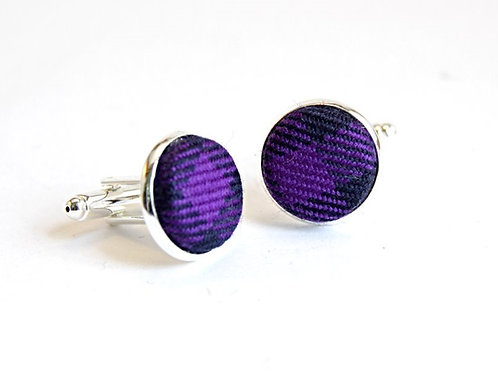 Spirit of Scotland Tartan Cufflinks