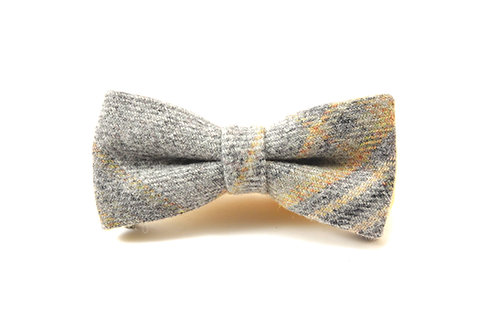 'Lichen' Tweed 'Sophisticate' Bow Tie