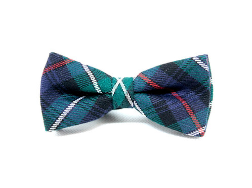 MacKenzie Modern Tartan 'Sophisticate' Bow Tie
