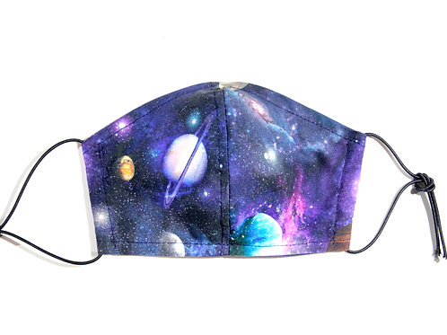 Cotton Face Mask - Galaxy