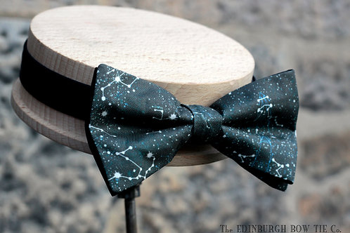 Stargazing Silk 'Sophisticate' Bow Tie