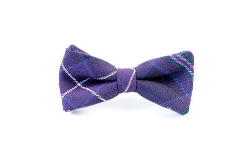 Scottish Heather Tartan 'Sophisticate' Bow Tie
