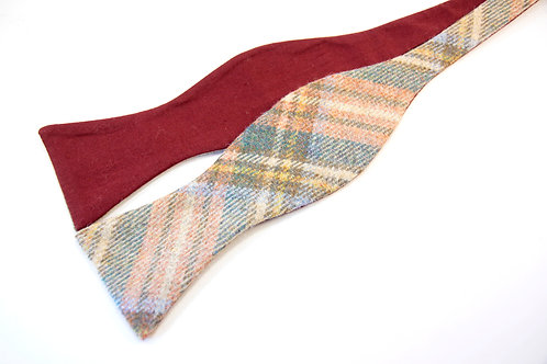 Stewart Royal Weathered Tweed 'Gentleman' Bow Tie