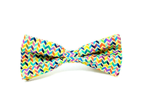 Zig Zag Silk 'Sophisticate' Bow Tie