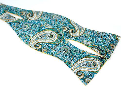 Paisley Liberty Print 'Gentleman' Bow Tie
