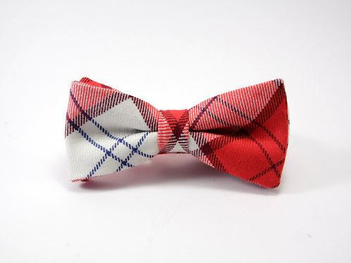 Lennox Red Tartan 'Sophisticate' Bow Tie