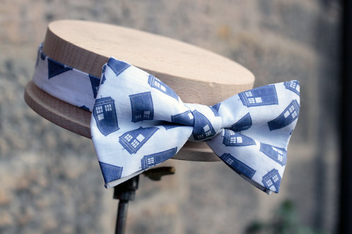 Flying Police Box 'Sophisticate' Bow Tie