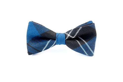 Ramsay Blue Tartan 'Sophisticate' Bow Tie