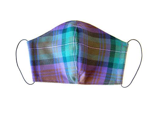 Isle Of Skye Tartan Face Mask