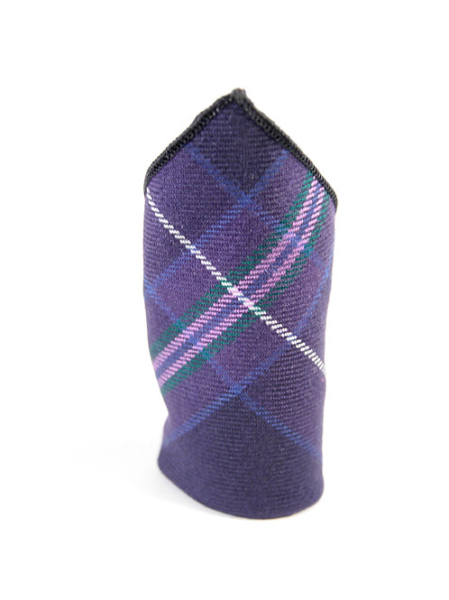 Scottish Heather Pocket Square