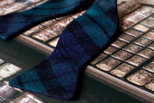 42c6a84a7fea Black Watch Tartan 'Gentleman' Bow Tie (Classic)