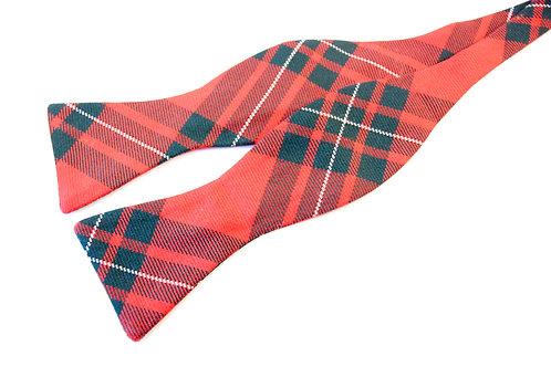 MacGregor Red Tartan 'Gentleman' Bow Tie