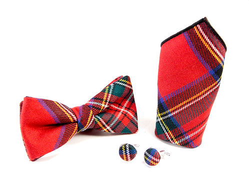 Royal Stewart Tartan Gift Set
