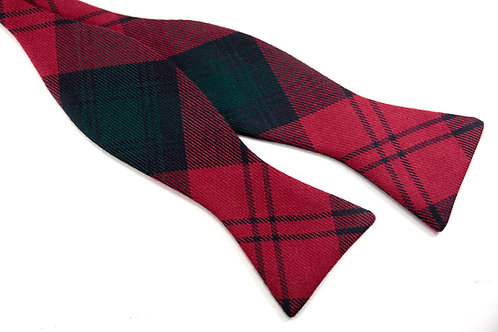 Lindsay Modern Tartan 'Gentleman' Bow Tie