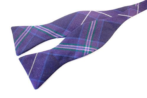 Scottish Heather Tartan 'Gentleman' Bow Tie