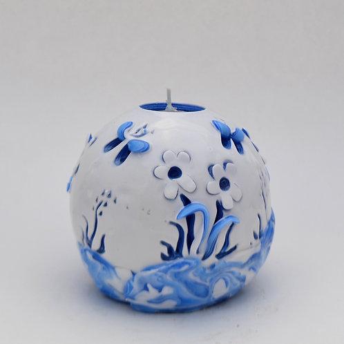 Country Blue Spring Garden Ball