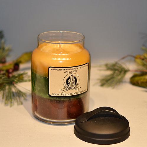 Sweet Meadow, Soft Eucalyptus, Fireside Combination  26 Ounce Jar