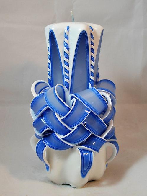 Country Blue Medium Centerpiece Basket