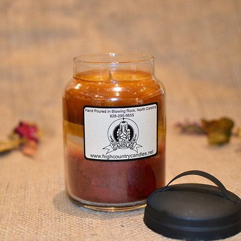 Butterscotch, Vanilla Creme, Cranberry-Orange Combination  26 Ounce Jar