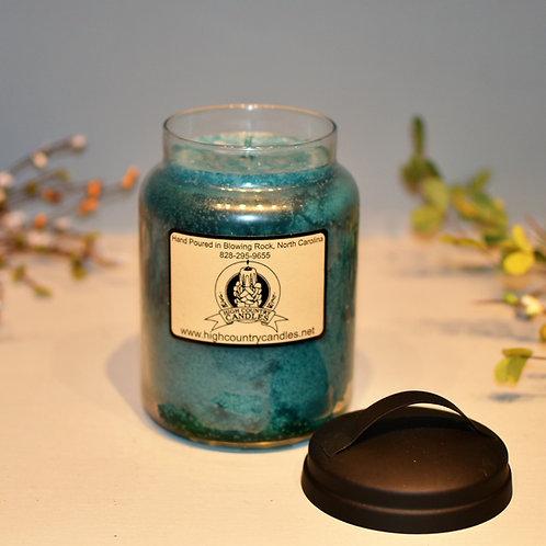 Ocean Mist 26 Oz Jar Candle