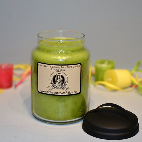 Green Apple 26 Oz Jar Candle