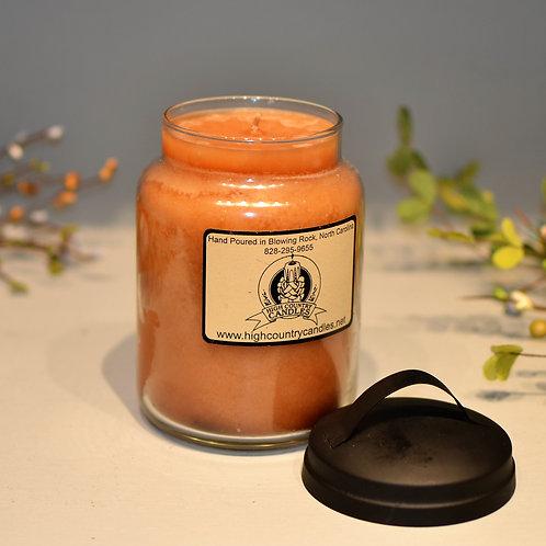 Teakwood 26 Oz Jar Candle