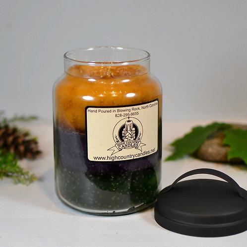Nutmeg & Cedar, Blackberry Sage, Apple & Clover Combination  26 Ounce Jar