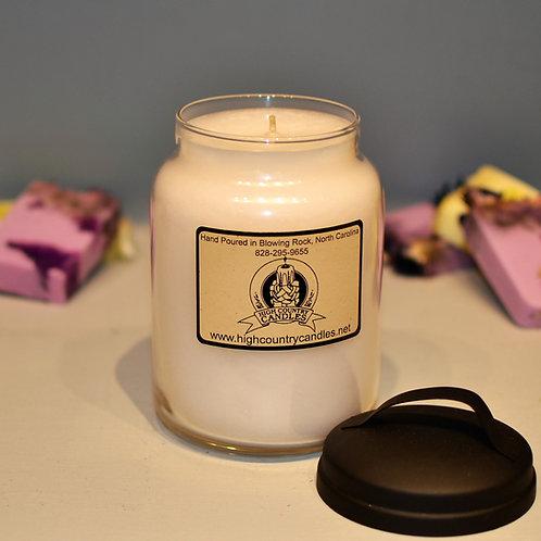 Plumeria 26 Oz Jar Candle