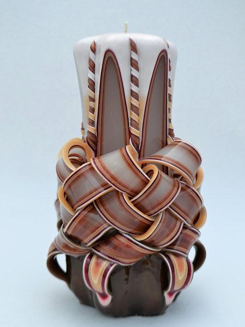 Autumn Brown Medium Centerpiece Basket