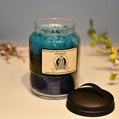 Clover & Aloe, Lemongrass, Stormy Nights Combination  26 Ounce Jar