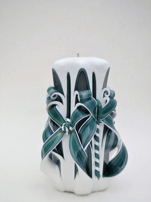Aloe Green Small Centerpiece Double Bow