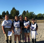 Ann with show jump team at 2018 West Coast Pony Club Champs