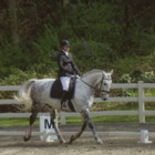 Ann and Aslan at Bridle Trails