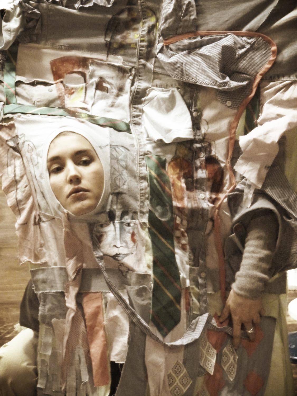 vêtement patchwork