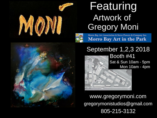 Showing At Morro Bay Art In The Park Show