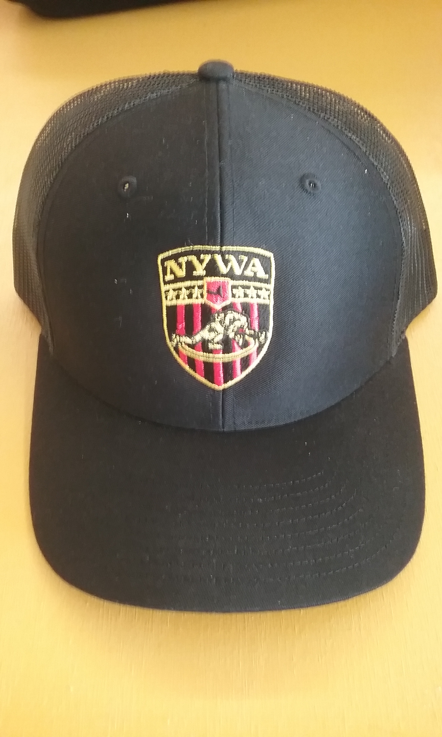 NYWA Trucker Hat Black