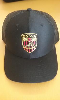 NYWA Trucker Hat Black