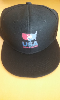 USA Wrestling Hat Snap Back