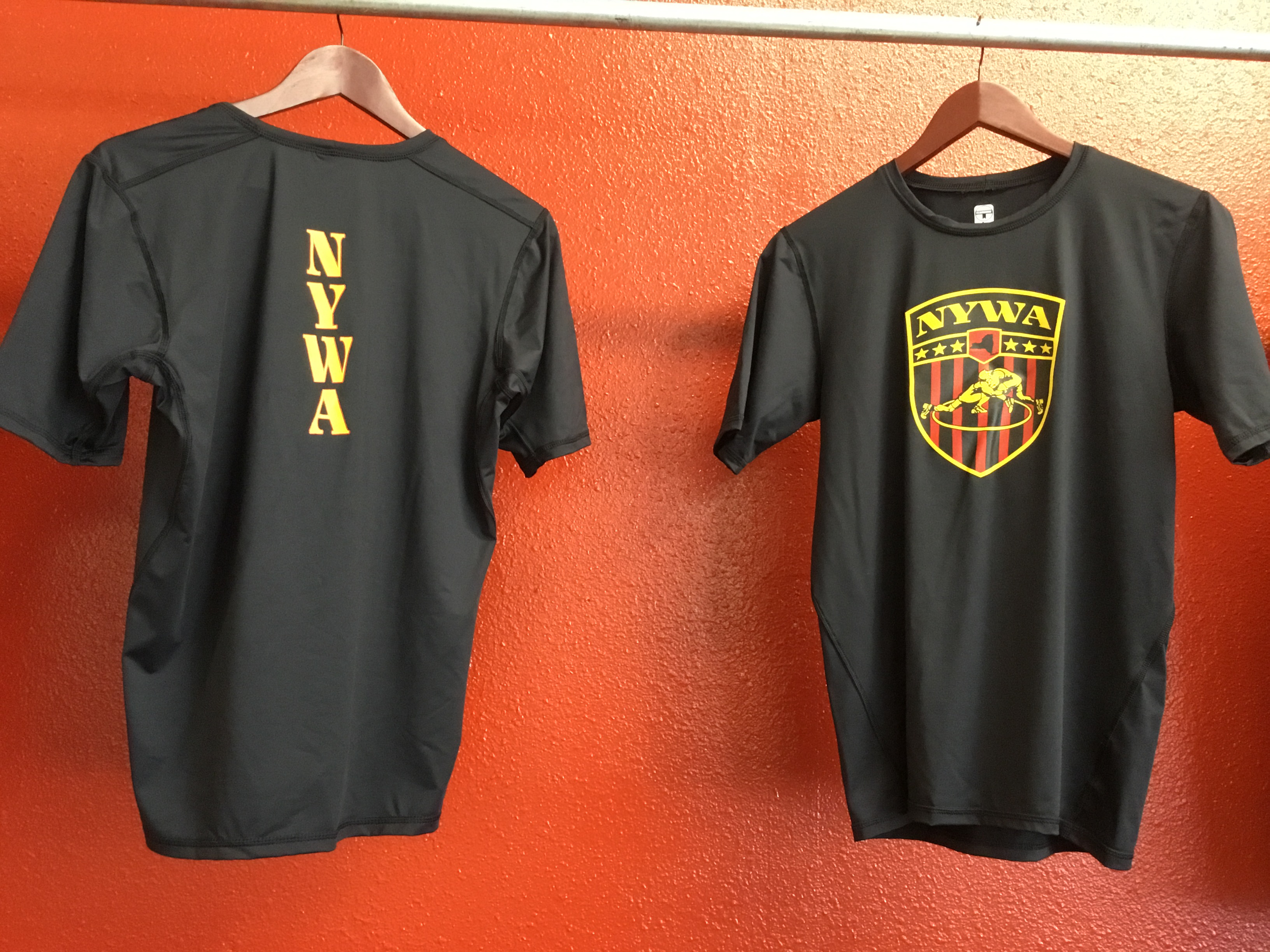 NYWA Compression Shirt Front & Back