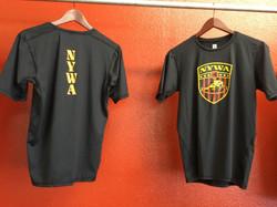 NYWA Compression Shirt Front & Back