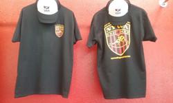 NYWA T-Shirts Black Front & Back