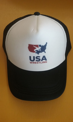 USA Wrestling Trucker Hat