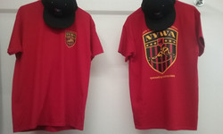 NYWA T-Shirts Red Front & Back