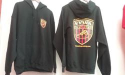 NYWA Hooded Sweatshirt Front & Back